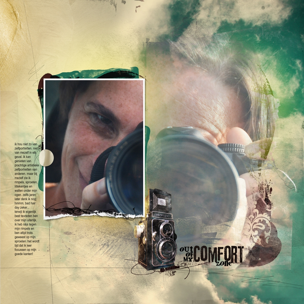 selfportrait-layout-challenge-selfie-july-2013-camera-turquoise-gold-dirty-yellow